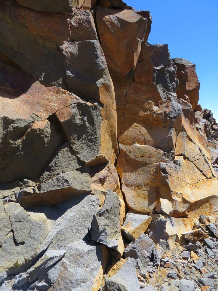 Vulkanisch gesteente in Tongarira