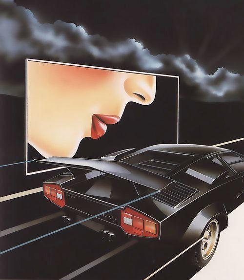 Iam A Rider Lambogini Song Download: 80s Illustration Lamborghini Lamborghini Countach Supercar