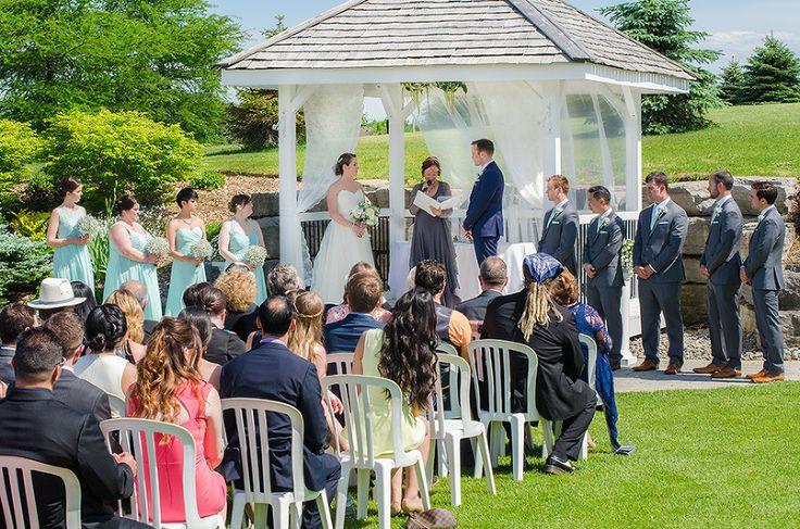 Tangle Creek wedding ceremony by Vaughn Barry Photography www.vaughnbarry.com | Barrie Wedding Photographer