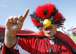 Image result for Cardinals fans