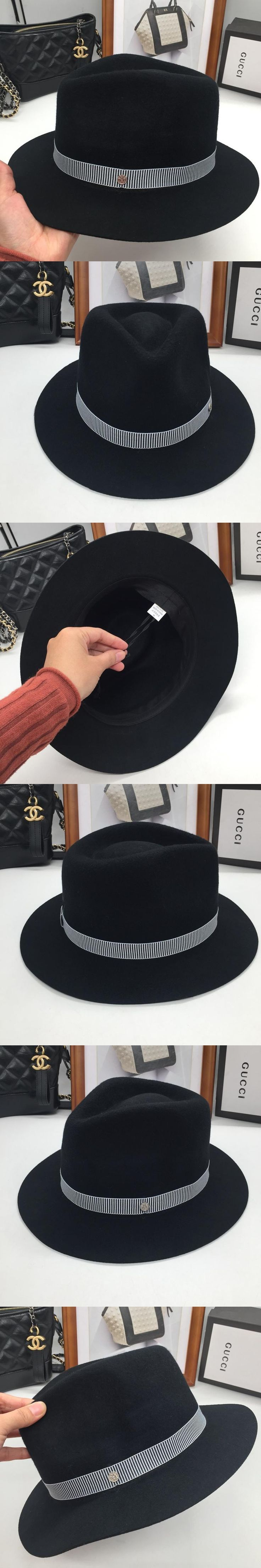 Han edition tidal autumn autumn winter cap back on the jazz pure color stereotypes cloth hat short eaves homburg female tide