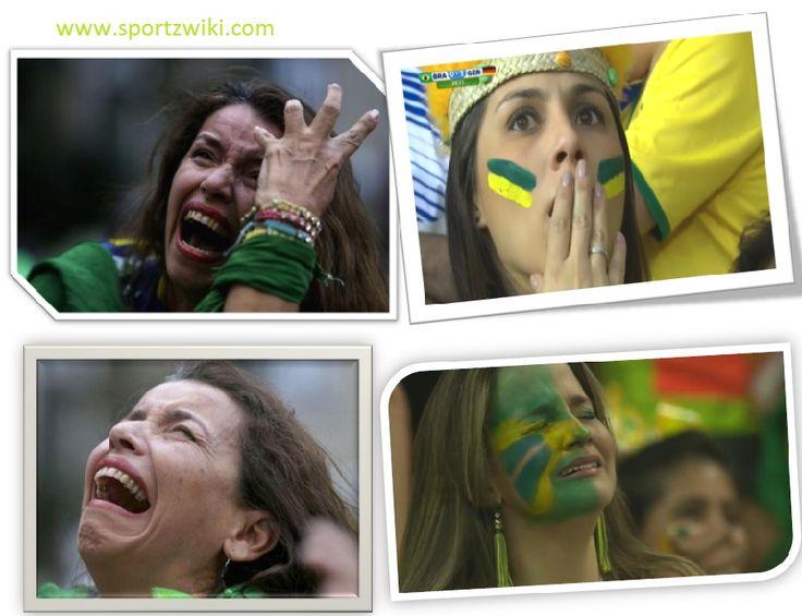 Heartbroken #Brazilian fans after black German
