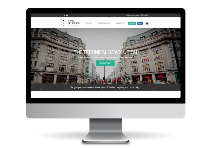 Website design and development for Prime Networks. http://www.prime-networks.co.uk/