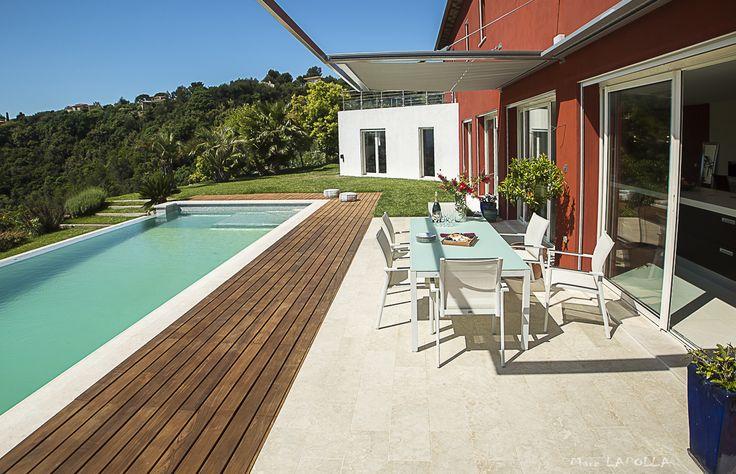 Peymeinade - villa de luxe - Piscine et terrasse - photographe immobilier