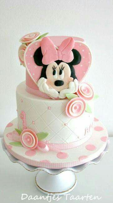 398 Best Minnie Mouse Cakes Images On Pinterest Minnie