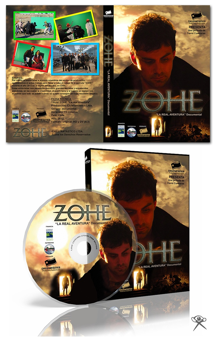 "Cover DVD Documentary ""Zohe - The Real Adventure"""
