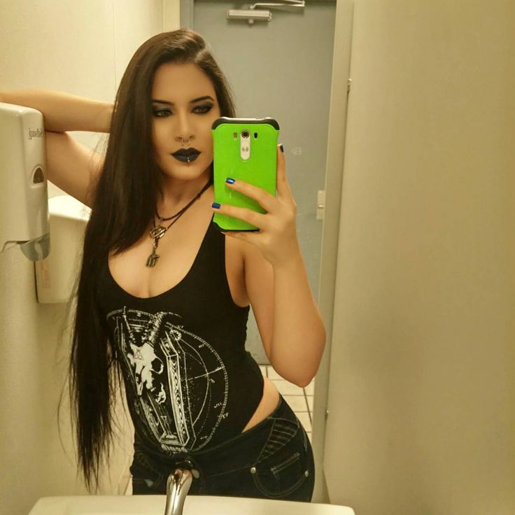 The bathroom of guitar center has awesome lighting lol 🙌  Shoutout to @_deathco_ for making such amazing bodysuit 💕 go check them out!!! #promoter #promo #promotions #metal #metalgirl #metalchick #metalhead #metalheads #alternativegirl #alternativegirls #longhair #septum #labret #girlswithpiercings #clothingbrand #clothingcompany #guitarcenter #bodysuit