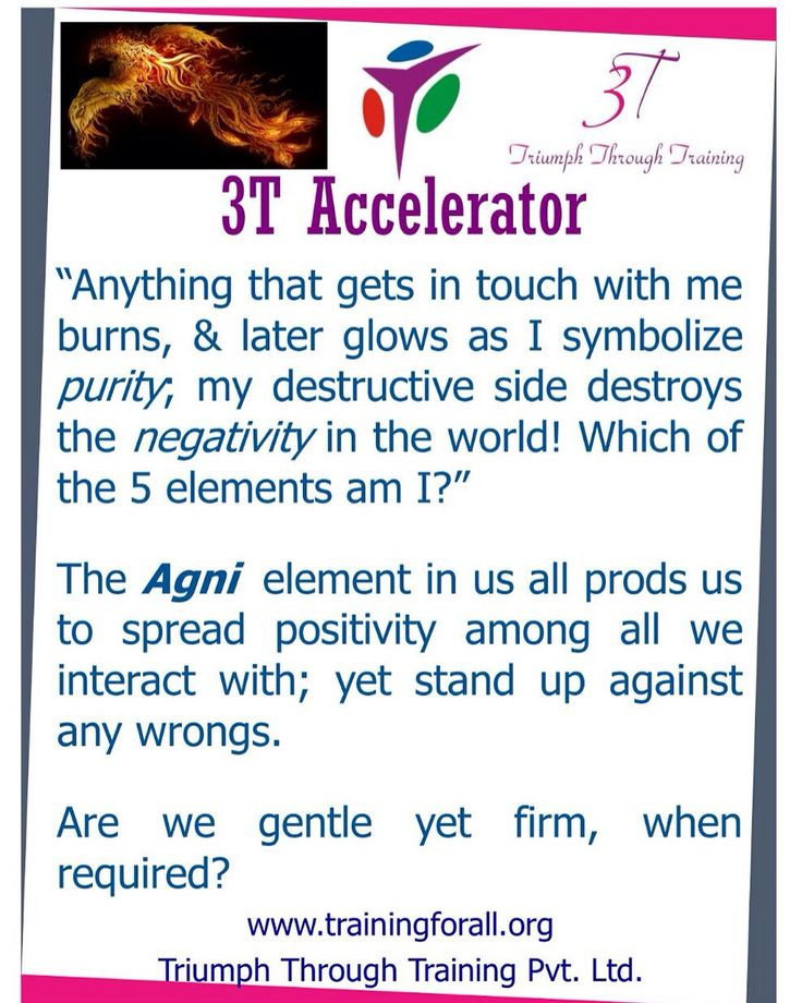 #3t_accelerator of today is on benefits of fire within. #triumphthroughtraining