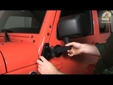 Quadratec 13125 0220 - Quadratec Automatic Billet Aluminum Mirror Movers for 07-16 Jeep® Wrangler & Wrangler Unlimited JK - Quadratec