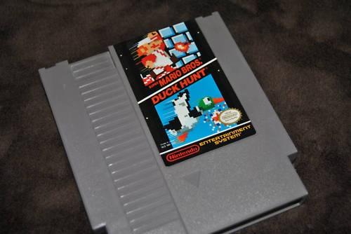 Super Mario Bros. & Duck Hunt Nintendo NES video game