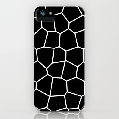 BW iPhone & iPod Case by kikas - $35.00