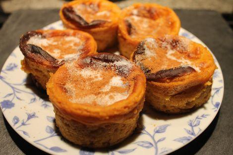 Pastelitos de Boniato con o sin lactosa