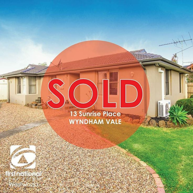 Sold for $402000!  Another one #SOLD by #fnrewestwood!  Ask us how we can get you sold for more!   #realestateau #realestate #realestateagent #realestatewerribee #realestateaustralia #wyndham #werribee #buy #sell #property #investor #appraisal #marketopinion #weputyoufirst