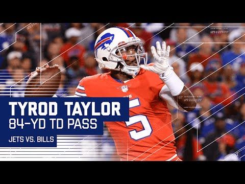Tyrod Taylor Connects with Marquise Goodwin for Huge 84-Yard TD! | Jets vs. Bills | NFL - YouTube