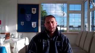 2015 09 12 Gavin Ellison Team Captain Interview