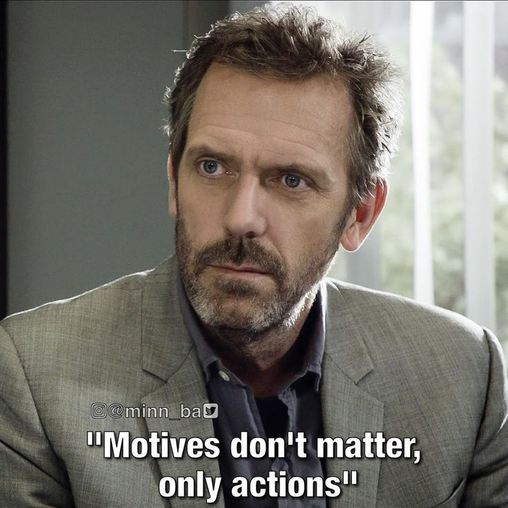 """S8Ep22 """"Everybody Dies"""" House md, House md quotes, Hugh"""