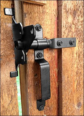 Ozco Gate Latch - Woodworking