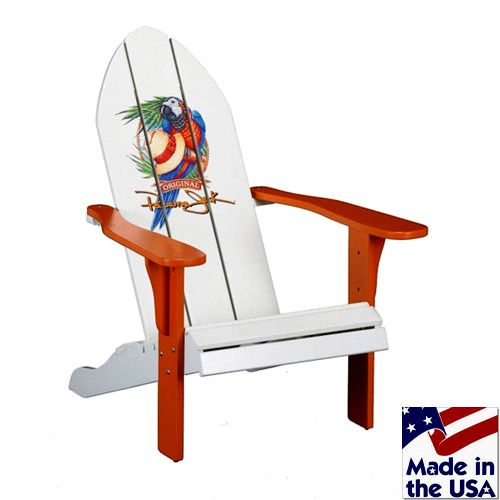 PJO 4001 ADK Panama Jack Adirondack Chair by Hospitality Rattan  Made in  America solid wood outdoor beach chair   Pinterest   Beach chairs  Rattan  and. PJO 4001 ADK Panama Jack Adirondack Chair by Hospitality Rattan