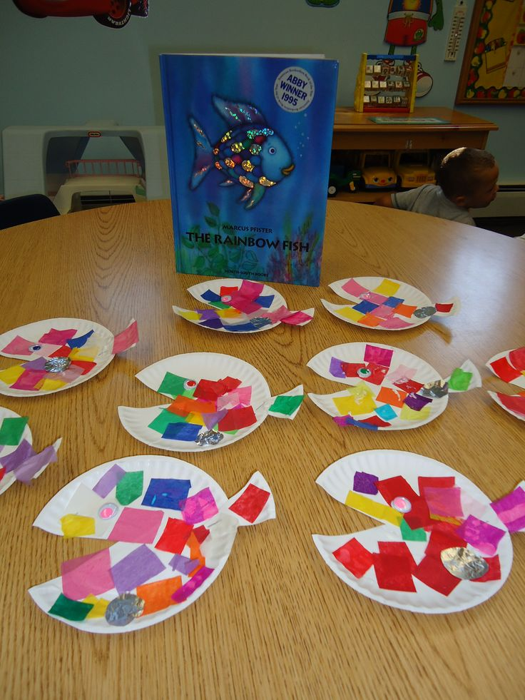 Squarehead Teachers: Rainbow Fish activities to go with the Rainbow Fish book by Marcus Pfister.