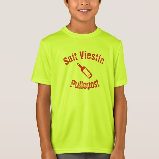 sait viestin pullossa T-Shirt Get this t-shirt with a message in a bottle font and the Finnish sentence sait viestin pullossa which mean you got a message in a bottle.