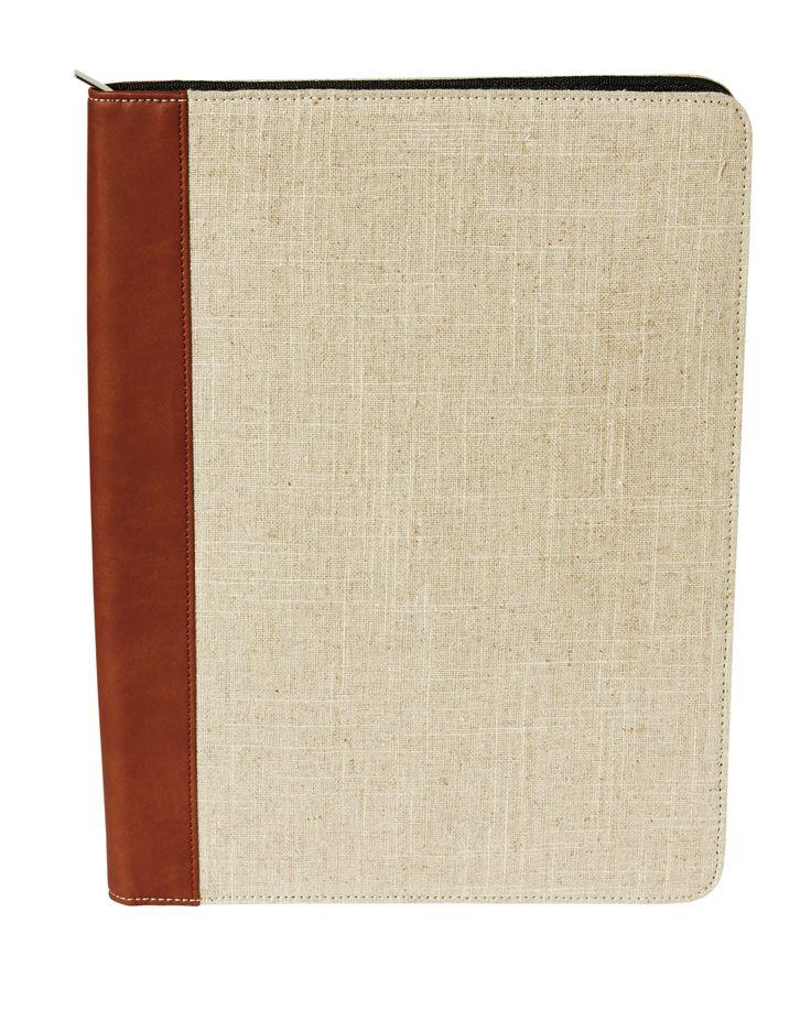 Document folder linen