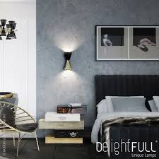 When it comes to home decor, wall lamps are always a good choice! Unique lamps to bright your world! Take a look at this fabulous design. | www.delightfull.eu #delightfull #walllamps #lighting #interiordesign #uniquelamps #homelighting #homedecor #roomlighting
