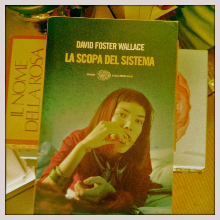 David Foster Wallace. A genius. This is his first work: stunning. Marvelous.