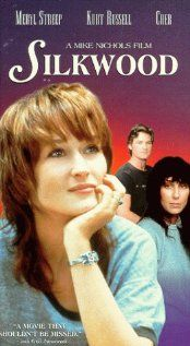 Some younger people don't know about this movie. TRUE story of Karen Silkwood and her work to bring to light safety violations at a plutonium plant. The shower scene haunted me for years till I came across the movie again and finally was able to place the scene
