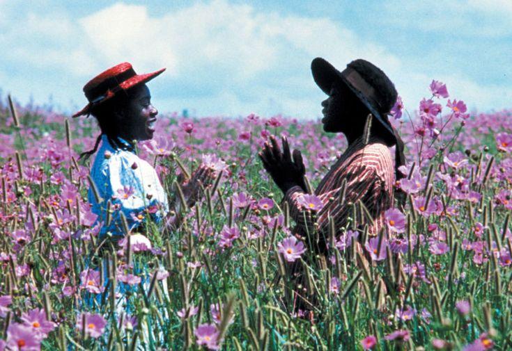 Самые красивые кадры с цветами в кино   Vogue Ukraine Цветы лиловые полей, Стивен Спилберг (1985)