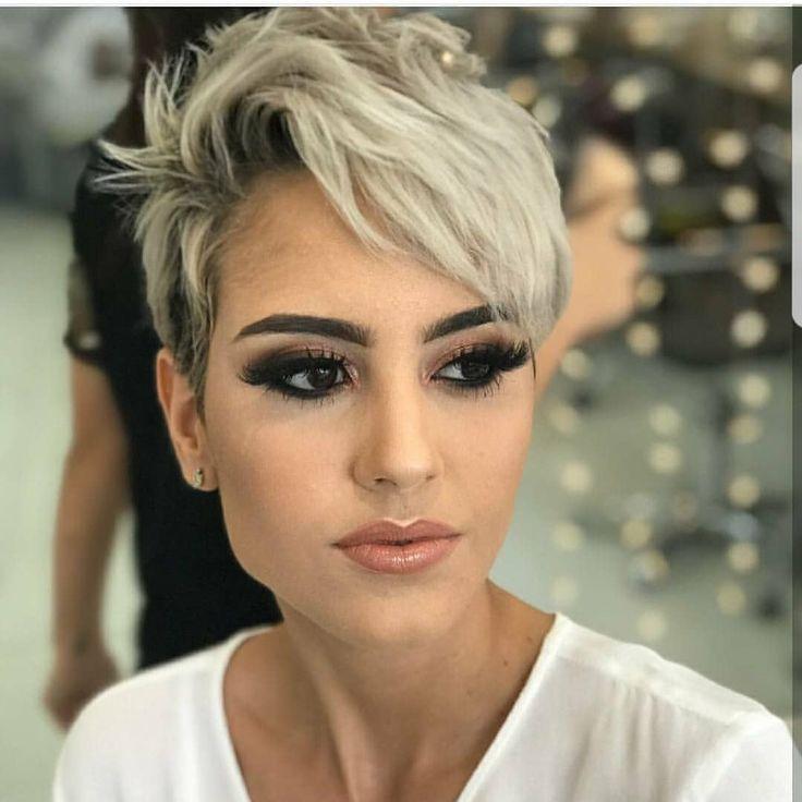 """4,626 Likes, 49 Kommentare – Hair Fashion MensStyle (Don Godfrey) auf Instagram: """"Habe gerade dieses wunderschöne Pixie-Foto auf @pixiepalooza gesehen. Aber ich bin …"""