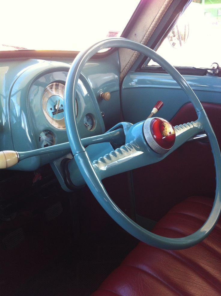 ◆ Visit MACHINE Shop Café... ◆ ~ Aussie Custom Cars & Bikes ~ Classic 1953 FX Holden Interior