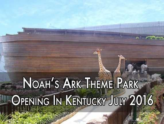 Save The Date—Noah's Ark Theme Park Opening In Kentucky July 2016! Over 16,000 lucky Christians a day will be able to enjoy the wonders of Ark Encounter, and Ham predicts the park will attract around 1. Description from popdust.com. I searched for this on bing.com/images