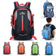 40L Waterproof Outdoor Sports Backpack Travel Hiking Camping Rucksack Bike Bag