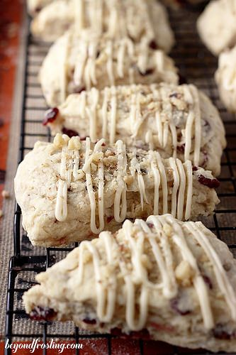 Walnut Sage Scones With Brown Butter Maple Glaze Recipe — Dishmaps