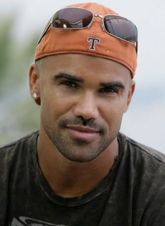Shemar Moore....Sure enjoyed this last weeks Criminal Minds when he came out in a towel still wet!!! Ooh lala