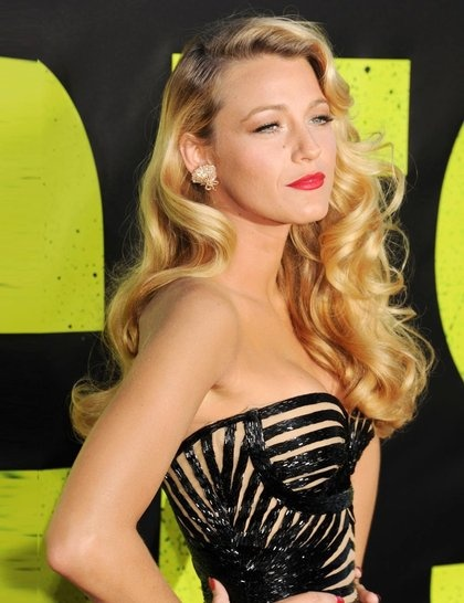 Old Hollywood glamour at its best... Blake Lively <3