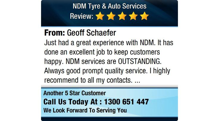 Just had a great experience with NDM. It has done an excellent job to keep customers...