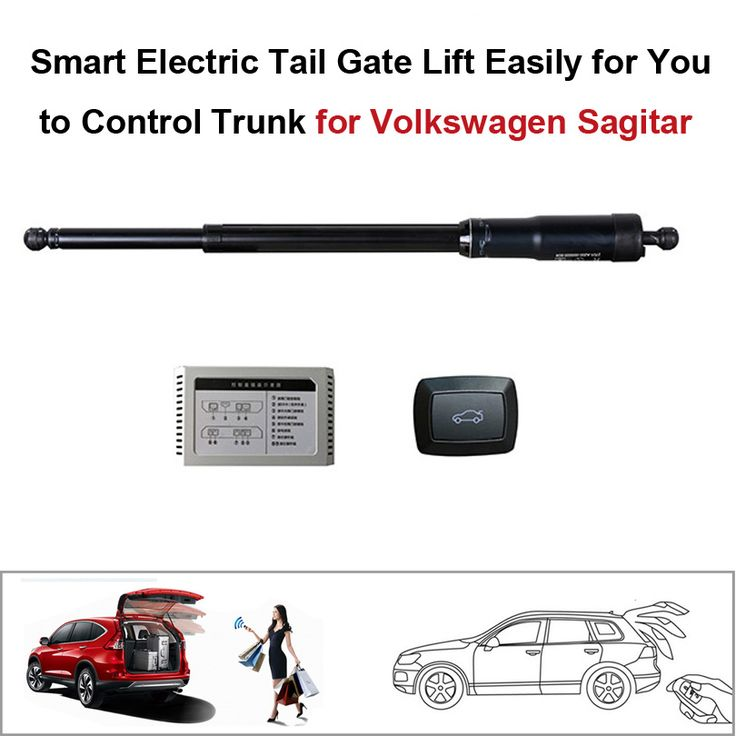 Smart Auto Electric Tail Gate Lift for Volkswagen VW Sagitar Control by Remote Drive Seat Tail Gate Button Set Height Avoid Pinc #Affiliate