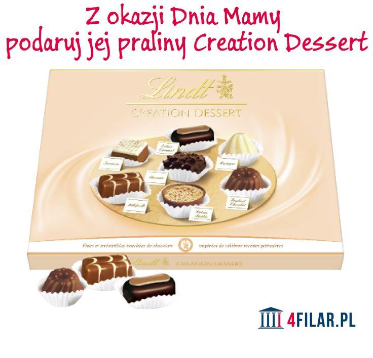 Praliny Creation Dessert