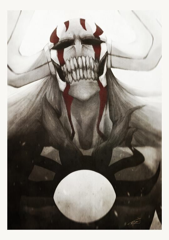 """Ichigo hollow - When I see this picture, I always feel like pinning it, but pinterest says I already have it on my board """"Bleach"""", thank you but... it doesn't stop me!! I don't care how many times it is on there because I just love it!! :D"""