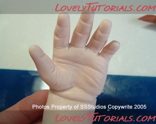 Polymer Clay Hand Tutorial - Art Dolls Today