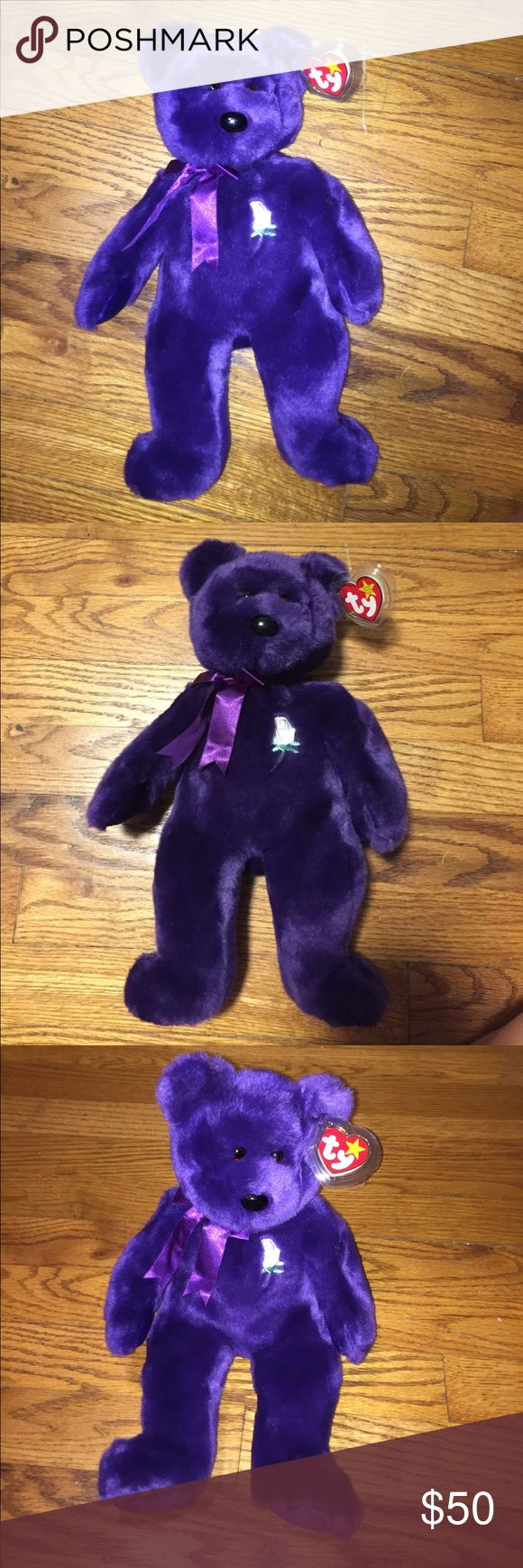 Princess Diana Beanie buddie! Perfect condition Princess Diana Beanie BUDDY (not to confuse with the beanie baby). I also have a princes Diana beanie baby for sale. Willing to offer (: Other