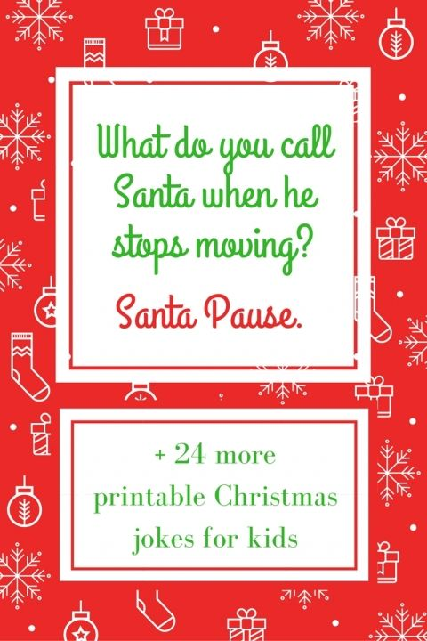 Christmas Jokes for Kids! So fun!!!
