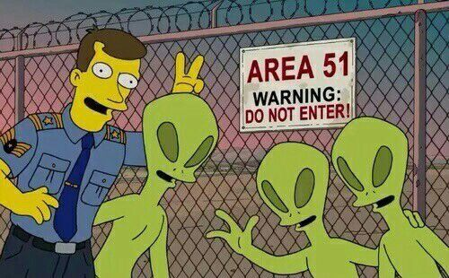 The Simpsons area 51