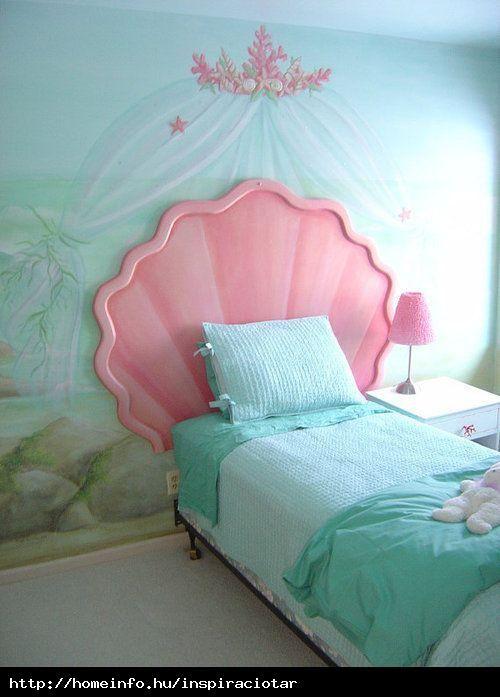 A kis hableány szobája