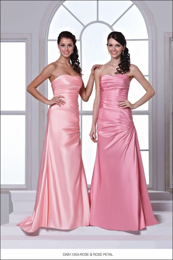 Rose Petal Pink Bridesmaid Dresses