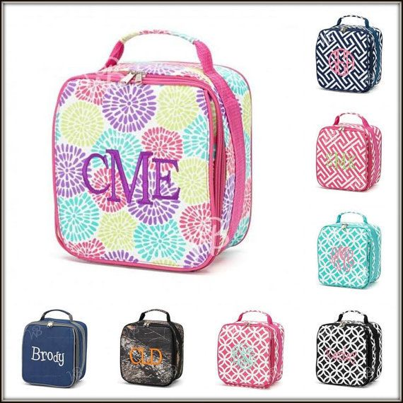 Back to School Lunch Bag by BIndulgedBoutique on Etsy, $14.95