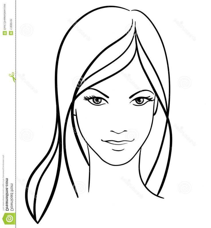 Ein Mädchen Gesicht zeichnen Schritttempo pro Schritttempo 1000+ Bilder oben Penelopiad Puppe…