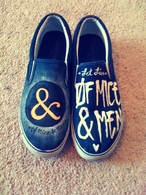 Of Mice & Men shoes WANT