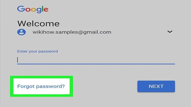 How to recover a gmail password?
